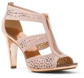 MICHAEL Michael Kors Berkley Leather T-Strap Sandals
