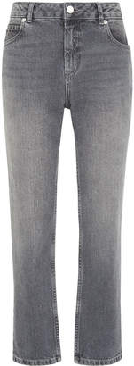 Whistles Grey Straight Leg Jean