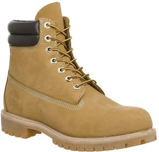 Timberland 6 Inch Double Collar Boots Wheat Nubuck