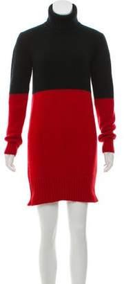 Michael Kors Long Sleeve Colorblock Dress