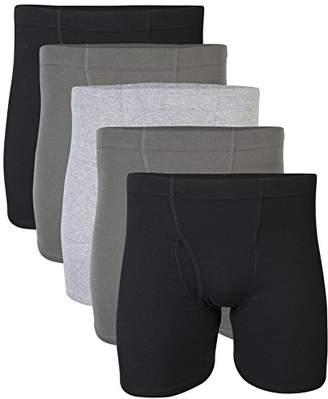 Gildan Men's Covered Waistband Boxer Brief Multipack