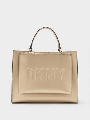 DKNY Mott Leather Medium Shopper