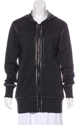 Dolce & Gabbana Mohair Hooded Jacket