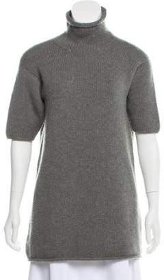Hermes Short Sleeve Cashmere Sweater