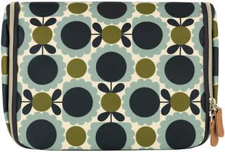 Orla Kiely Scallop Print Hanging Wash Bag