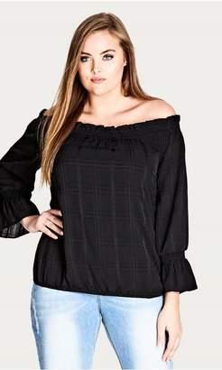 e2d8ac337b1c3 City Chic Black Plus Size Tops - ShopStyle Australia