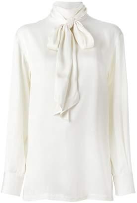 Lanvin tie detail blouse