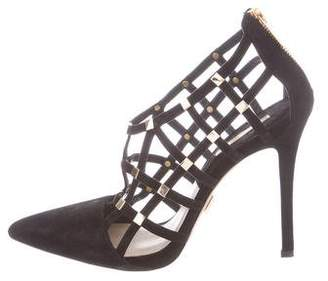 Michael Kors Caged Embellished Sandals