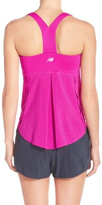 Women's New Balance 'Petal' Perforated Tank $60 thestylecure.com