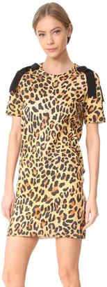 DSQUARED2 Leopard Jersey Dress $490 thestylecure.com