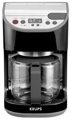 Krups KM6118 Coffee Maker, Precision 12 Cup