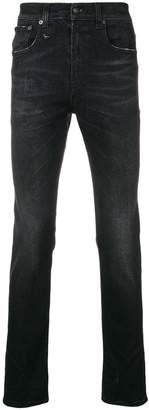 R 13 Skate slim-fit jeans