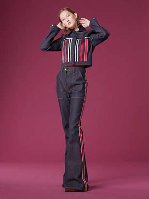 Diane von Furstenberg Cropped Denim Jacket