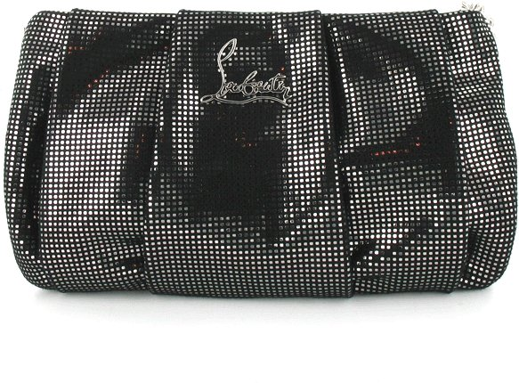 Christian Louboutin Suede/Metal Pouch Accessories