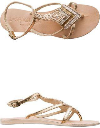 L Space X Cocobelle Arrow Sandals $119 thestylecure.com