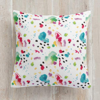 Color Play Square Pillow