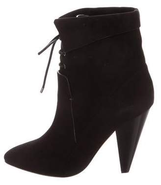 clearance 2014 newest with paypal low price Veronica Beard Laurel Fine Suede Ankle Boots w/ Tags 2015 new for sale F6NAz