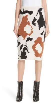 Christian Wijnants Intarsia Pencil Skirt