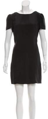 Rebecca Minkoff Open-Back Silk Dress
