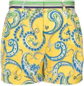 Philosophy di Lorenzo Serafini paisley shorts