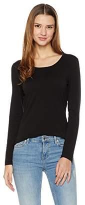 Essentialist Women's Long-Sleeve Round-Neck T-Shirt