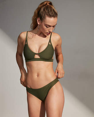 Express Cut-Out Bikini Top