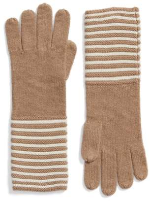 MICHAEL Michael Kors Double Links Wool & Cashmere Gloves