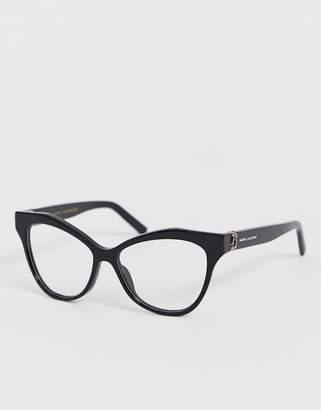 Marc Jacobs black cat eye glasses