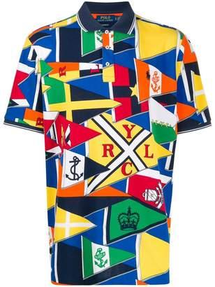 Polo Ralph Lauren colour-block polo shirt
