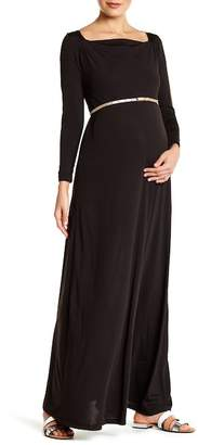 Everly Grey Maternity Zelena Maxi Dress (Maternity)