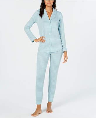 Alfani Printed Pajama Set