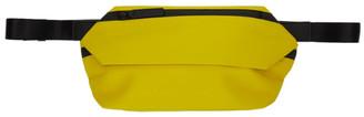 Issey Miyake Yellow Galette Waist Pouch