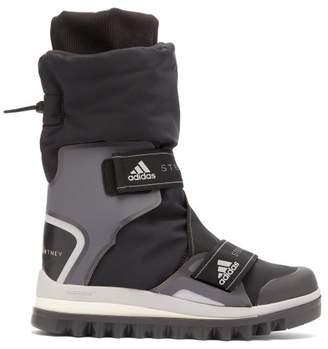 adidas by Stella McCartney Technical Logo Jacquard Boots - Womens - Black
