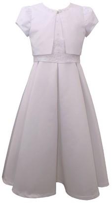 Girl's Iris & Ivy First Communion Dress & Jacket Set $95 thestylecure.com