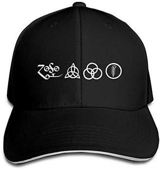 e682e497d09 New Jude LED ZEPPELIN Cool Concert Symbol Design Style Cap Snapback Hats  Winter Black