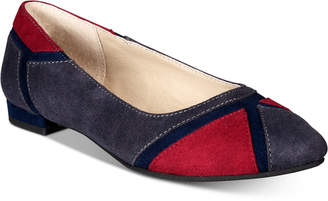 Rialto Adora Colorblocked Pointed-Toe Flats Women's Shoes