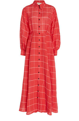 Mara Hoffman Liliana Cotton Maxi Dress