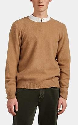 Massimo Alba Men's Brushed Camel Hair Sweater - Camel