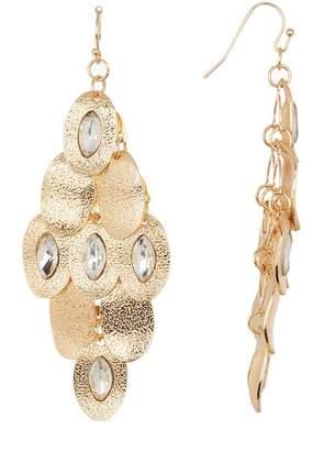 Leslie Danzis Crystal Retro Earrings
