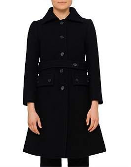 Chlo Wool Longline Classic Coat