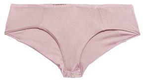Eberjey Metallic Mid-rise Bikini Briefs