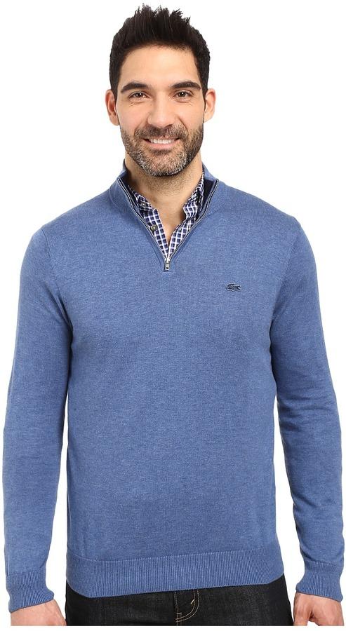 LacosteLacoste Classic 1/4 Zip Jersey Sweater