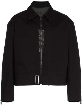 MACKINTOSH 0003 zip detail collared jacket