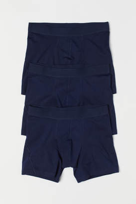 H&M 3-pack Boxer Shorts - Blue