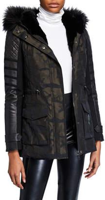Blanc Noir Enfield Hybrid Camo Jacket