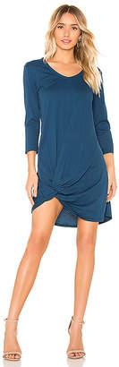 Bobi Supreme Jersey Knot Front Dress