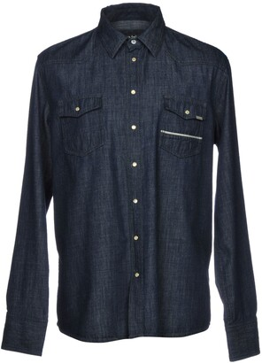 Care Label Denim shirts