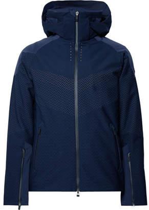 Kjus Freelite Stretch-Knit Hooded Ski Jacket