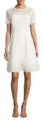MICHAEL Michael Kors Eyelet Fit-and-Flare Dress