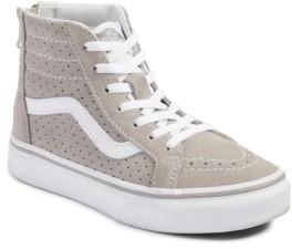Boy's Vans Sk8-Hi Zip Sneaker $49.95 thestylecure.com